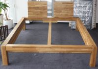 Bed from massive beech Natural