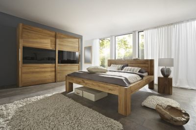 Bedroom suite from massive beech  Color - Natural  Produced from beech wood