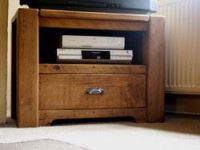 TV table from massive beech M2