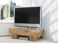 TV table from massive beech M3